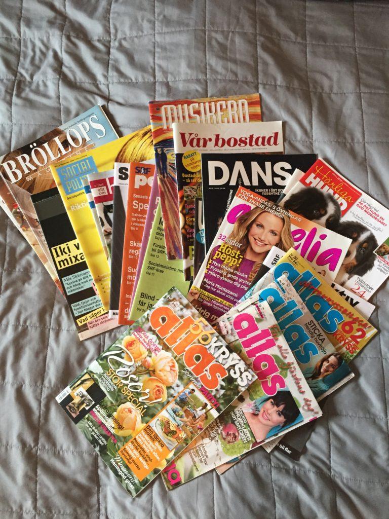 Diverse tidningar